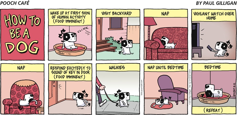 Pooch Cafe Comic Strip for August 10, 2014