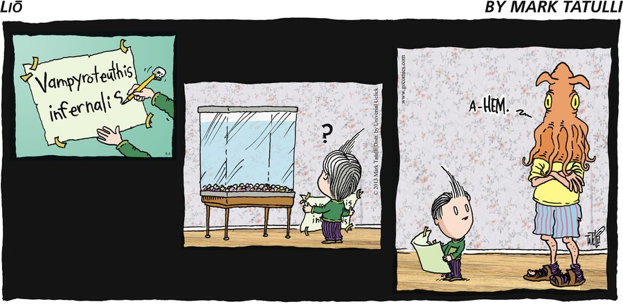 Lio Comic Strip for August 04, 2013