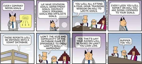 Dilbert - Sunday March 11, 2007 Comic Strip
