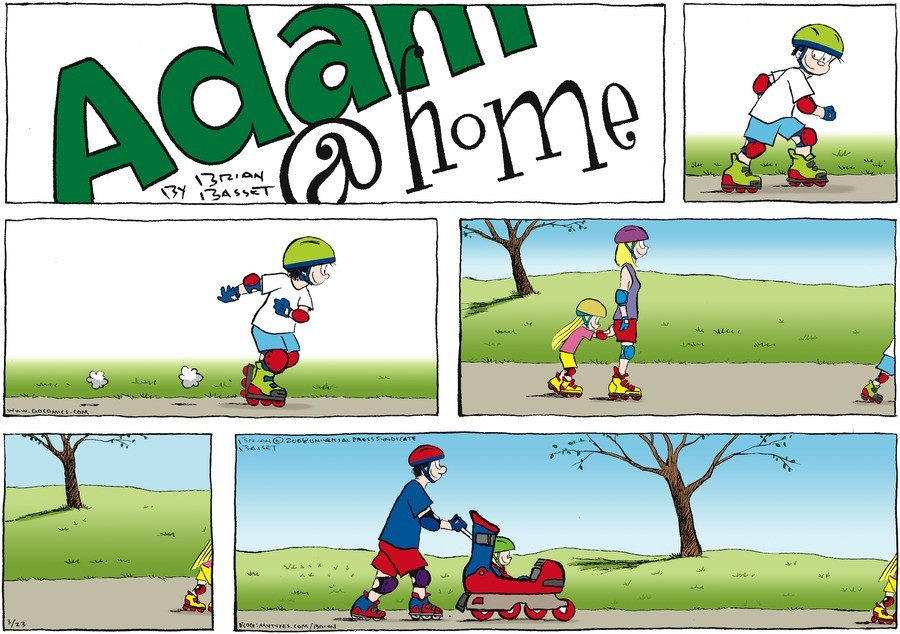 Adam@Home Comic Strip for March 23, 2008