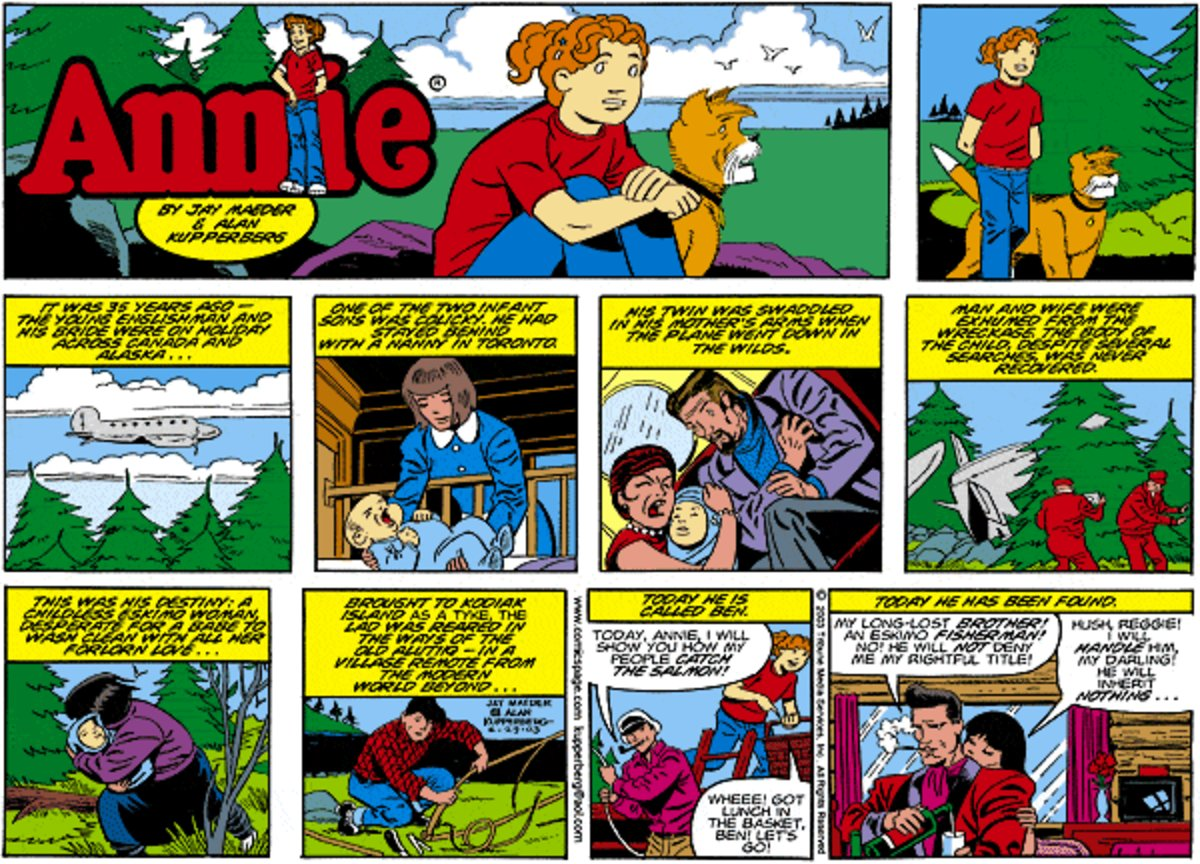 Annie for Mar 30, 2014 Comic Strip