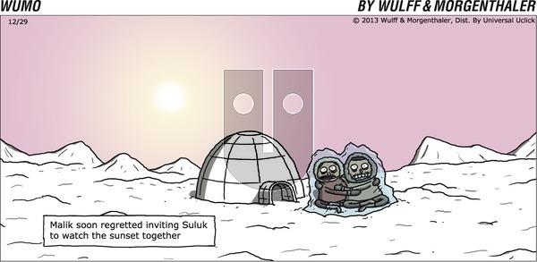 WuMo on Sunday December 29, 2013 Comic Strip