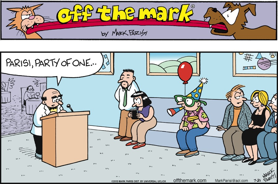 Off the Mark for Jul 21, 2013 Comic Strip