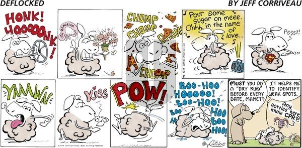 DeFlocked - Sunday April 24, 2011 Comic Strip