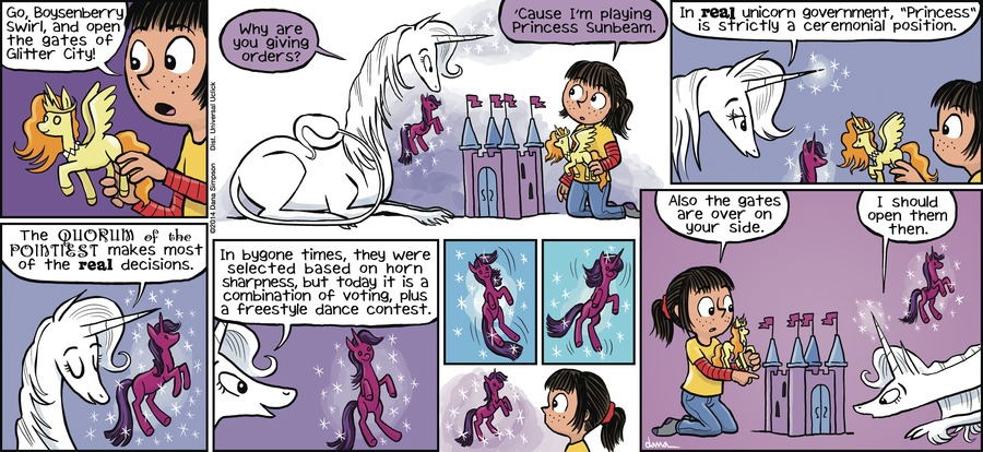 Phoebe and Her Unicorn Comic Strip for February 10, 2013
