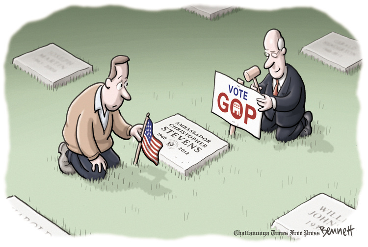 Clay Bennett for May 16, 2014 Comic Strip