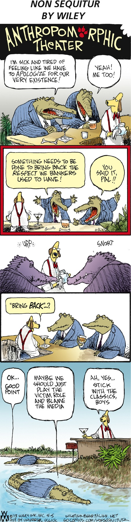 Non Sequitur for May 5, 2013 Comic Strip