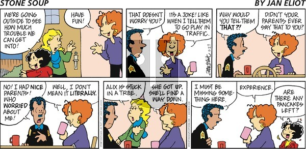 Stone Soup on Sunday November 27, 2016 Comic Strip