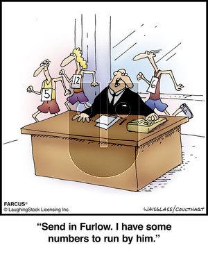 Farcus on Monday January 6, 2020 Comic Strip