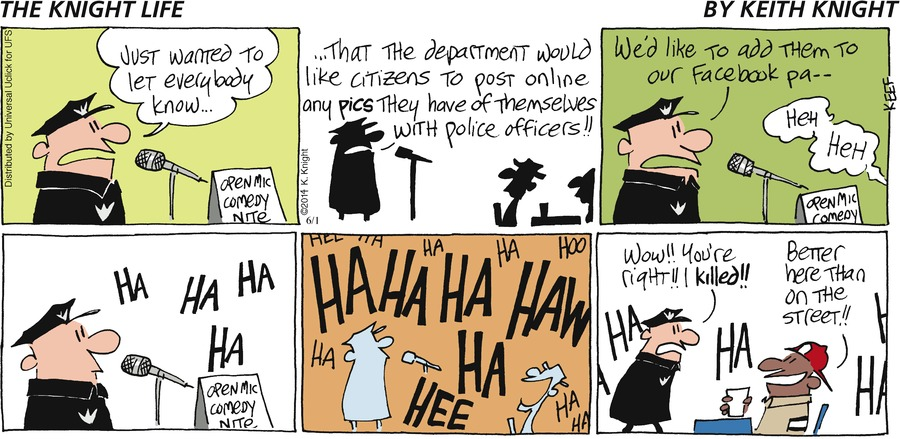 The Knight Life Comic Strip for June 01, 2014