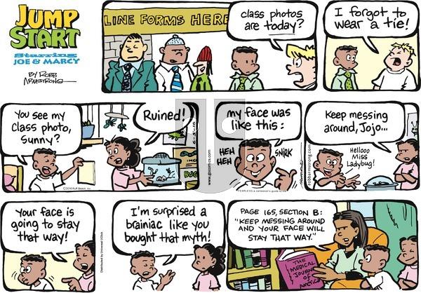 JumpStart on Sunday June 5, 2016 Comic Strip