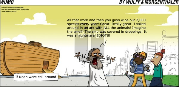 WuMo on Sunday September 9, 2018 Comic Strip
