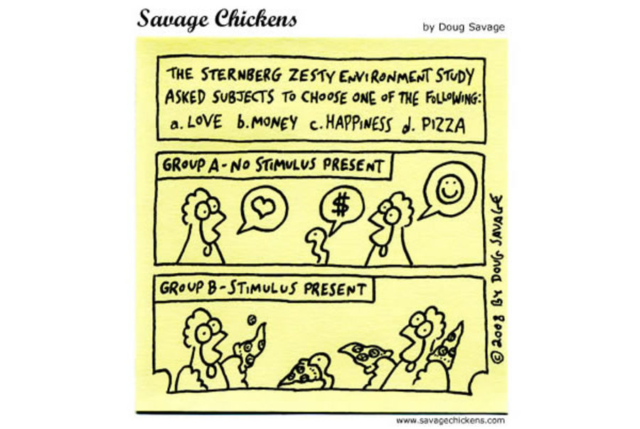 Savage Chickens Comic Strip for December 07, 2012