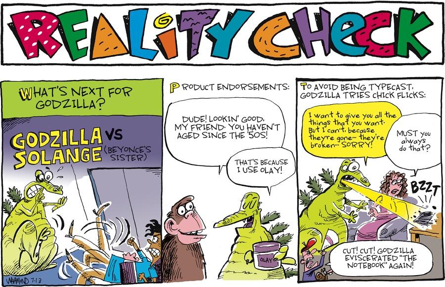 Reality Check for Jul 13, 2014 Comic Strip