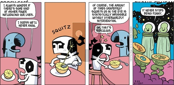Pooch Cafe on Sunday September 22, 2019 Comic Strip