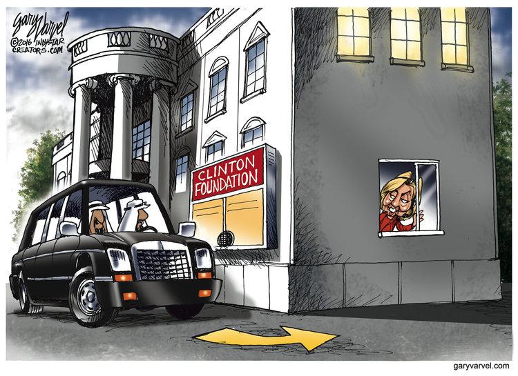 Gary Varvel Comic Strip for August 12, 2016