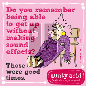 Aunty Acid on Sunday September 8, 2019 Comic Strip