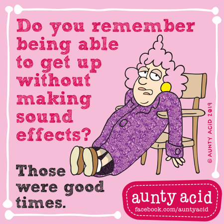 Aunty Acid by Ged Backland for September 08, 2019