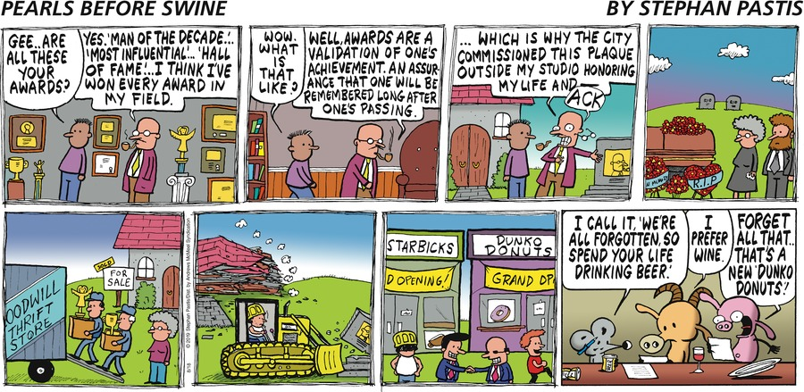 Pearls Before Swine Comic Strip for August 18, 2019