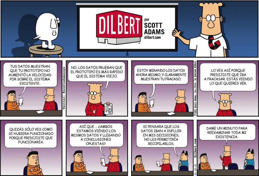Dilbert en Español by Scott Adams on Sun, 10 Oct 2021