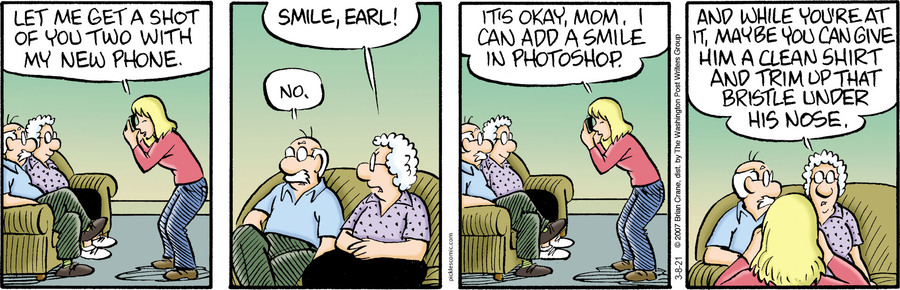 Pickles Comic Strip for March 08, 2021