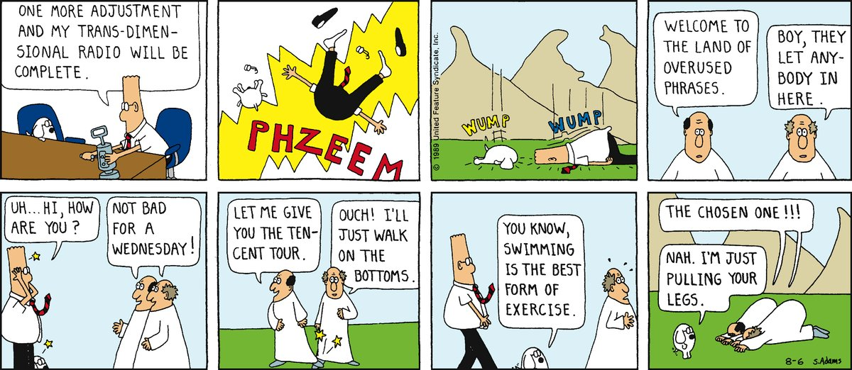 Dilbert Classics for Oct 7, 2012 Comic Strip