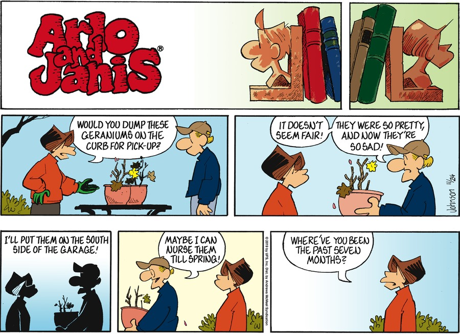 Arlo and Janis Comic Strip for November 24, 2019