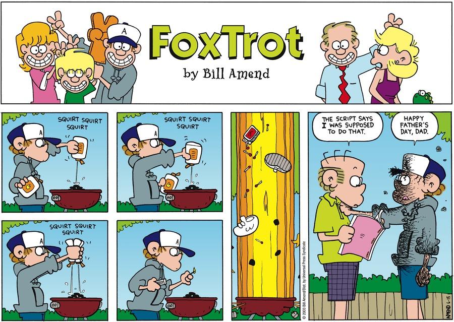 FoxTrot Comic Strip for June 15, 2003