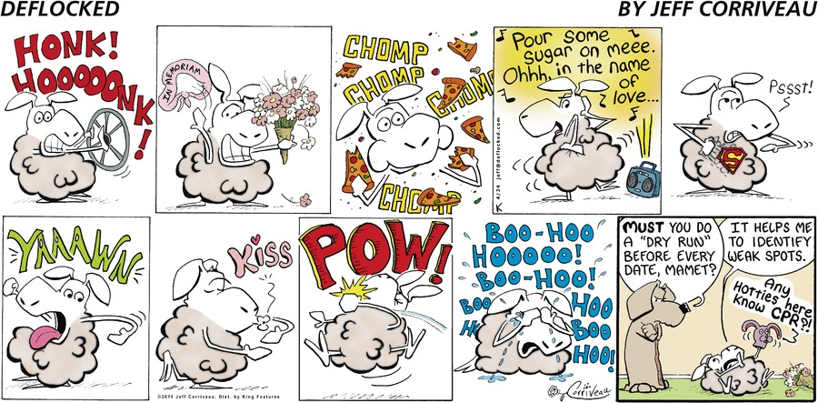 DeFlocked Comic Strip for April 24, 2011