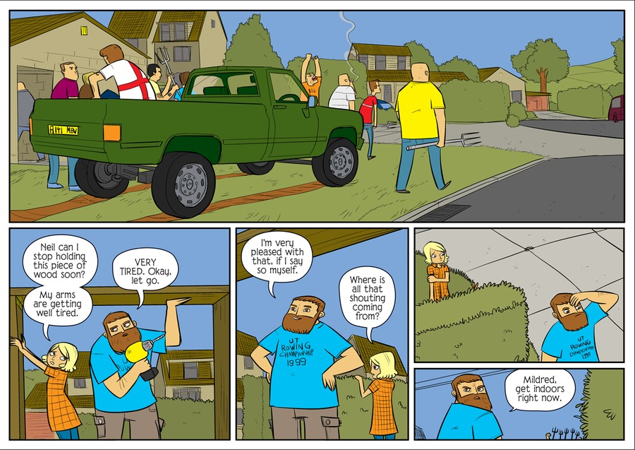Bad Machinery Comic Strip for July 19, 2021