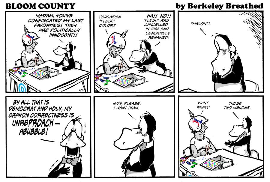 Bloom County 2019 by Berkeley Breathed for June 15, 2019