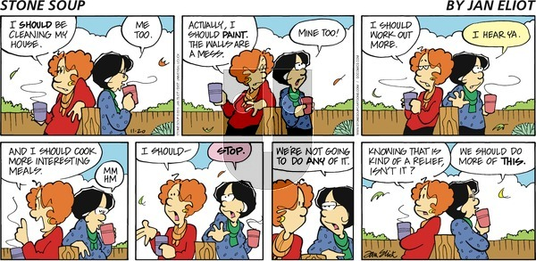 Stone Soup on Sunday November 20, 2011 Comic Strip