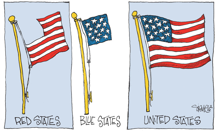 Signe Wilkinson Comic Strip for July 03, 2016