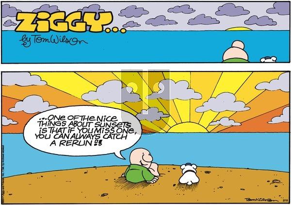 Ziggy on Sunday February 19, 2017 Comic Strip
