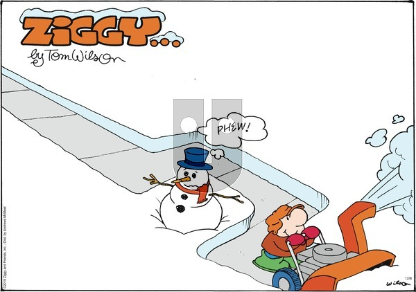 Ziggy - Sunday December 8, 2019 Comic Strip
