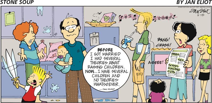 Stone Soup Comic Strip for June 15, 2014