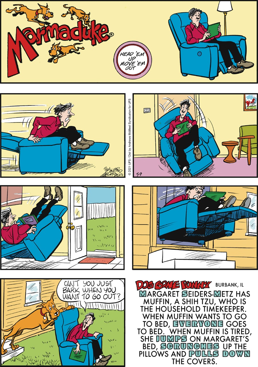 Marmaduke by Brad Anderson on Sun, 09 May 2021