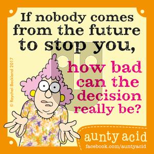 Aunty Acid on Tuesday May 30, 2017 Comic Strip