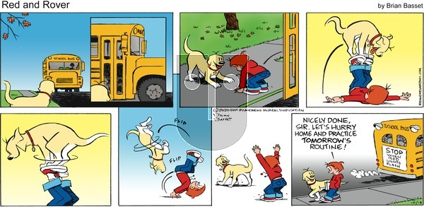 Red and Rover on Sunday October 18, 2020 Comic Strip