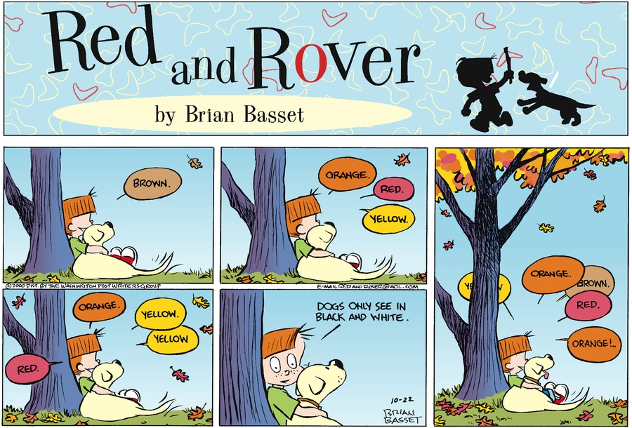 Red and Rover for Oct 22, 2000 Comic Strip