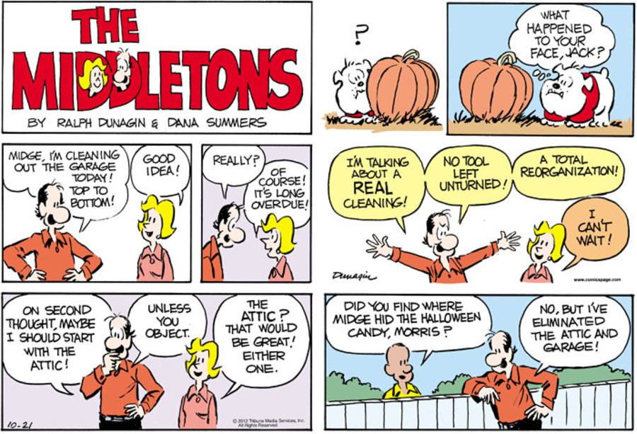 The Middletons for Oct 21, 2012 Comic Strip