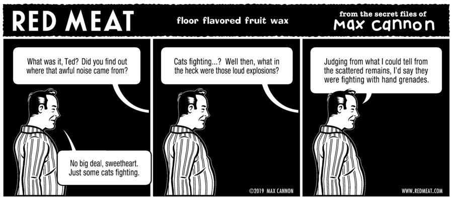 Red Meat Comic Strip for October 06, 2019