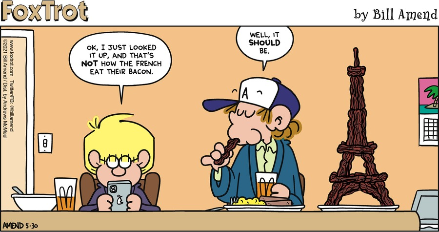 FoxTrot Comic Strip for May 30, 2021