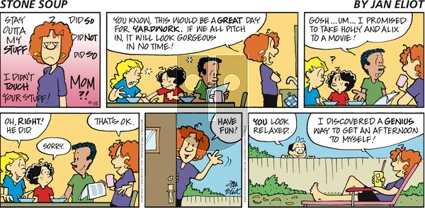 Stone Soup on Sunday September 15, 2019 Comic Strip