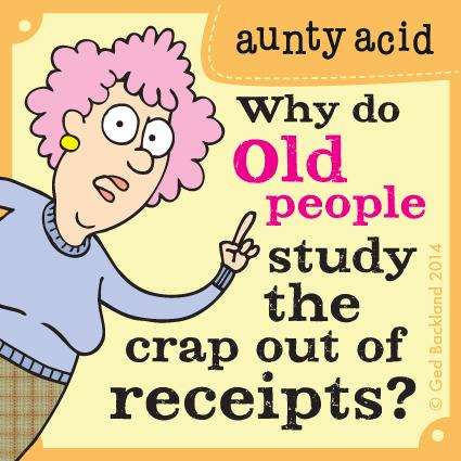 Aunty Acid for Jul 14, 2014 Comic Strip