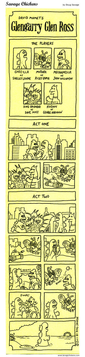 Savage Chickens for May 29, 2015 Comic Strip