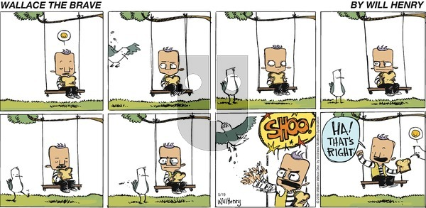 Wallace the Brave on Sunday May 19, 2019 Comic Strip