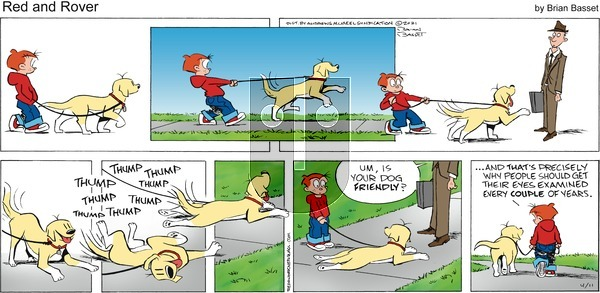 Red and Rover on Sunday April 11, 2021 Comic Strip