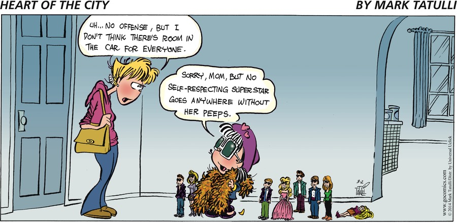 Heart of the City for Mar 2, 2014 Comic Strip