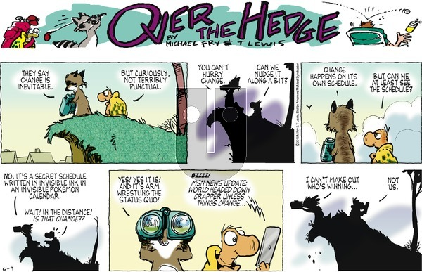 Over the Hedge on Sunday June 9, 2019 Comic Strip